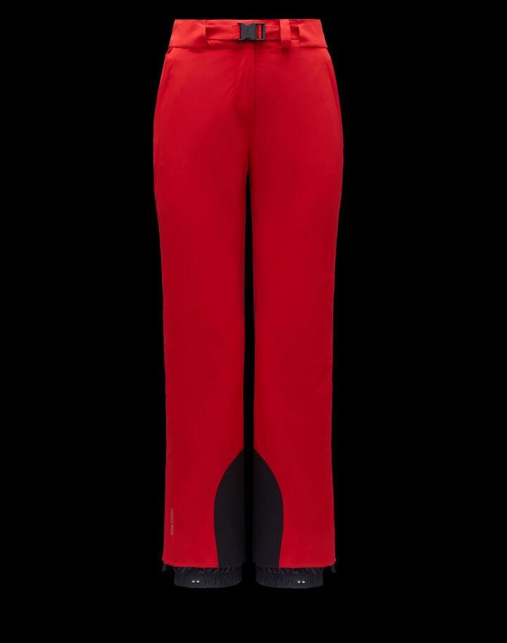 Moncler Ski pants Fire Red