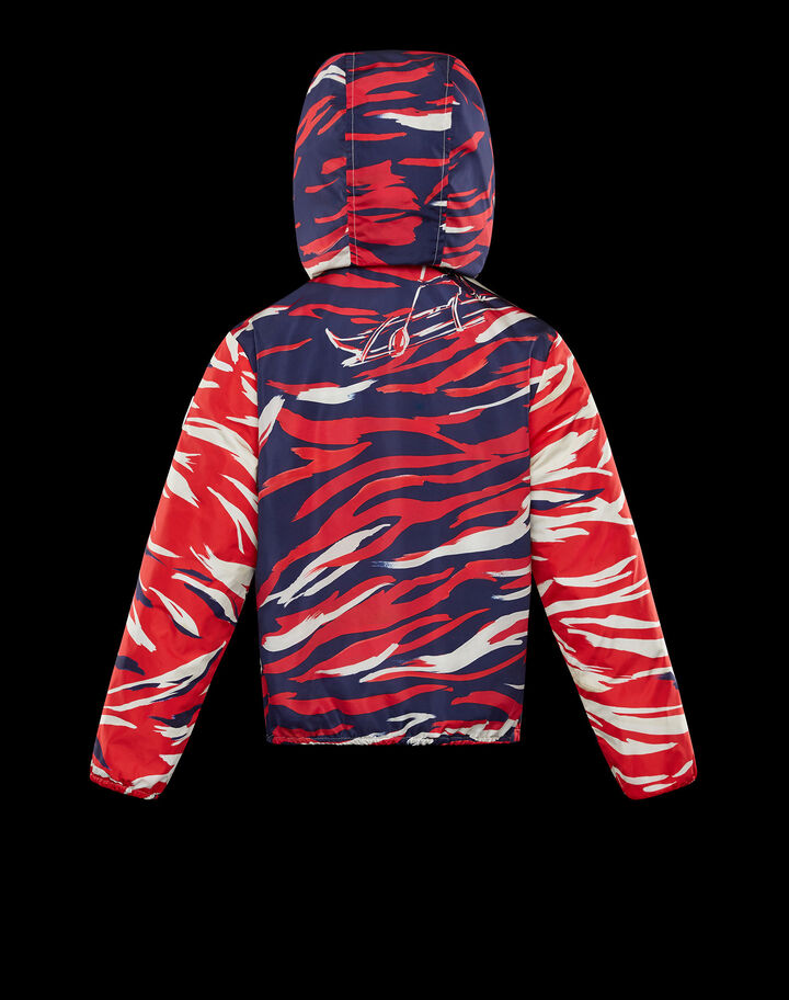 Moncler Gregorius Butter And Silver Camouflage