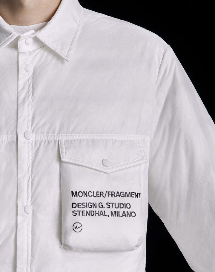 Moncler Mazen Optical White