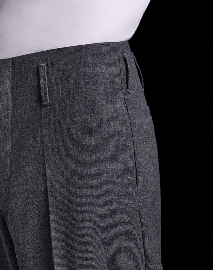 Moncler Wool gabardine pants Dark Gray