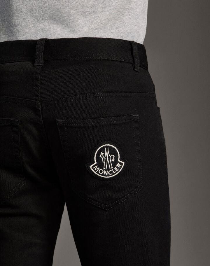 Moncler Bull stretch pants Black