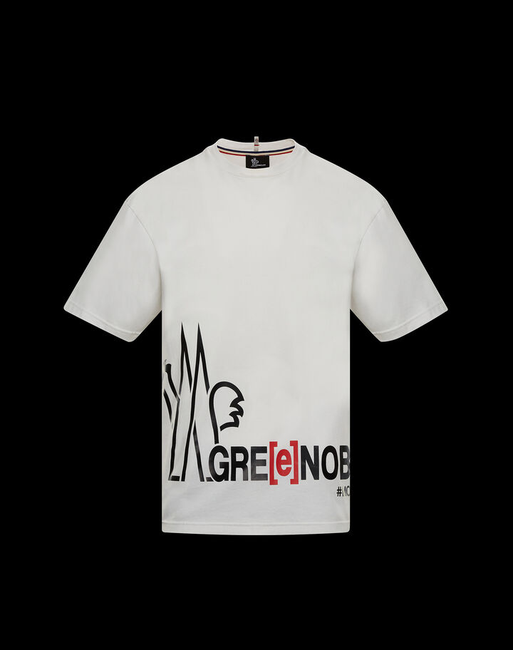 Moncler T-shirt Powder White