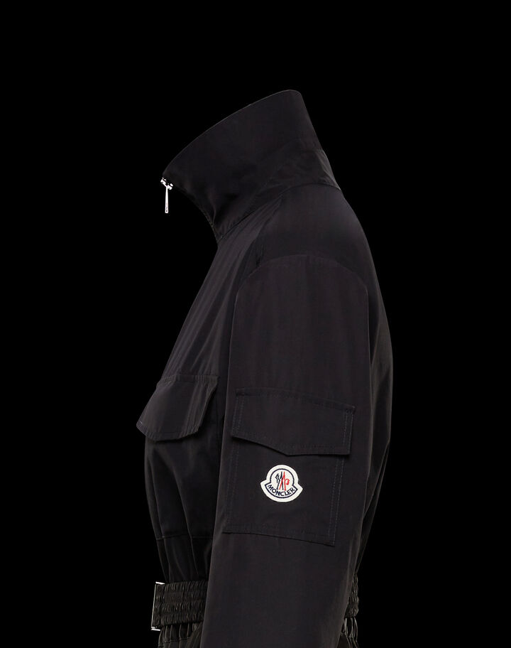 Moncler Cotton dress Black