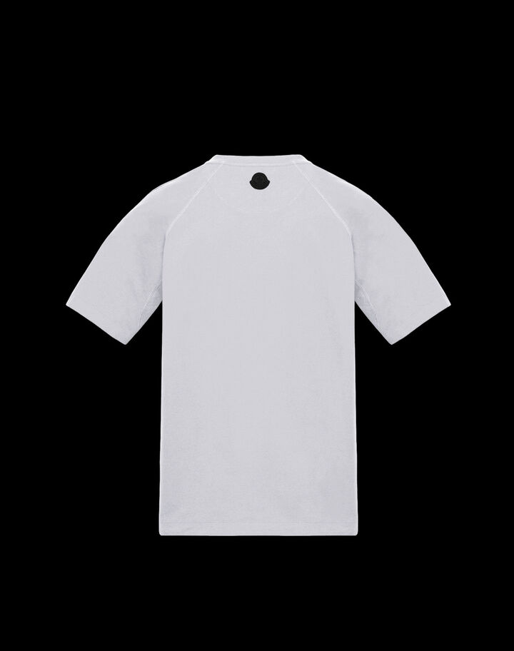 Moncler T-shirt with graphic Optical White