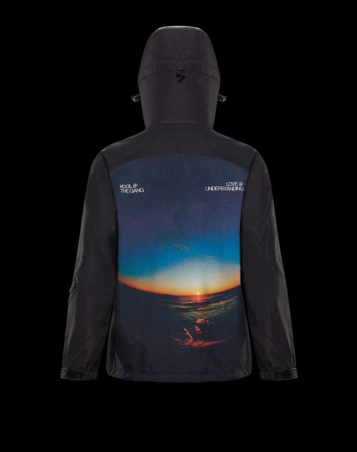 Moncler Leon Black With Sunset Print