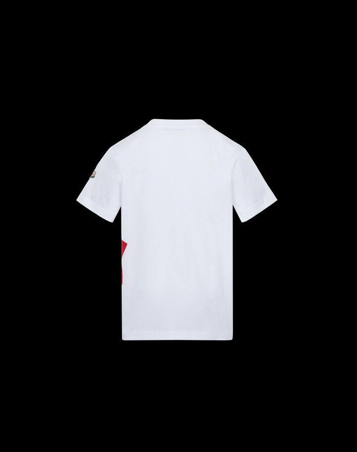 Moncler Graphic lettering t-shirt Off White