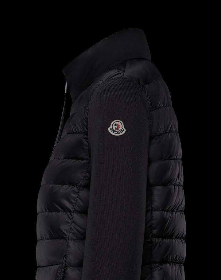 Moncler Wool cardigan Black