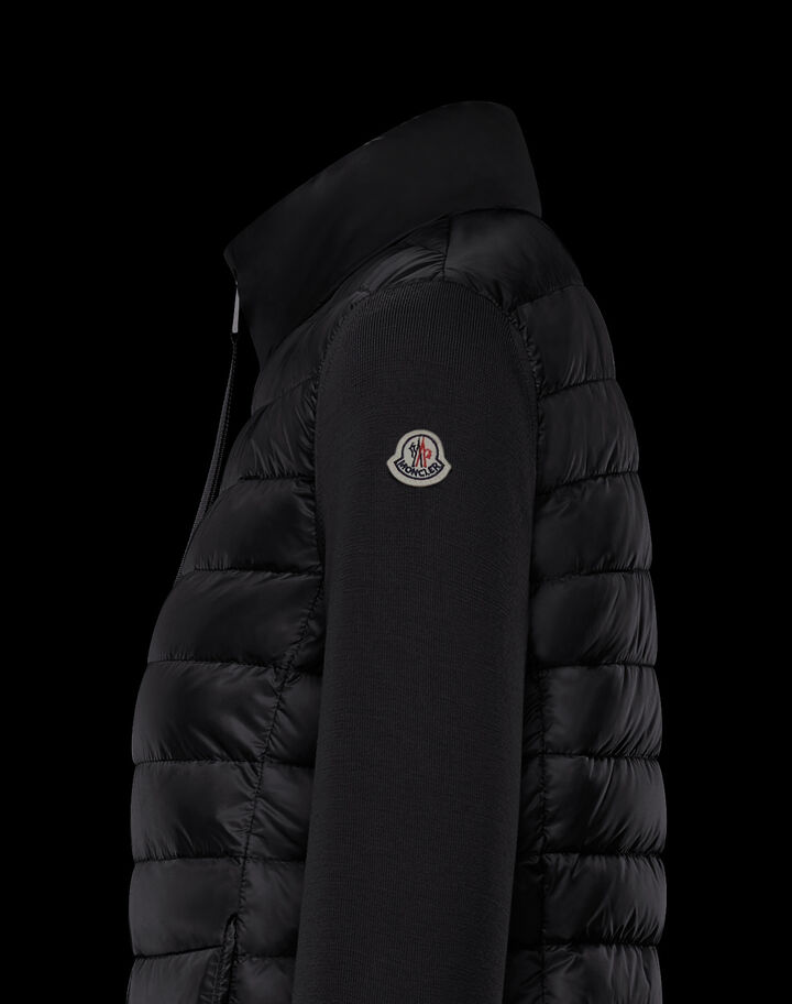 Moncler Wool cardigan Black