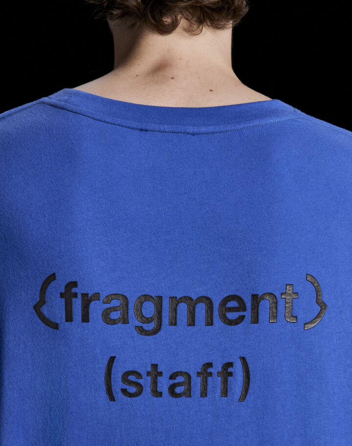 "Moncler ""Fragment staff"" t-shirt Sky Blue"