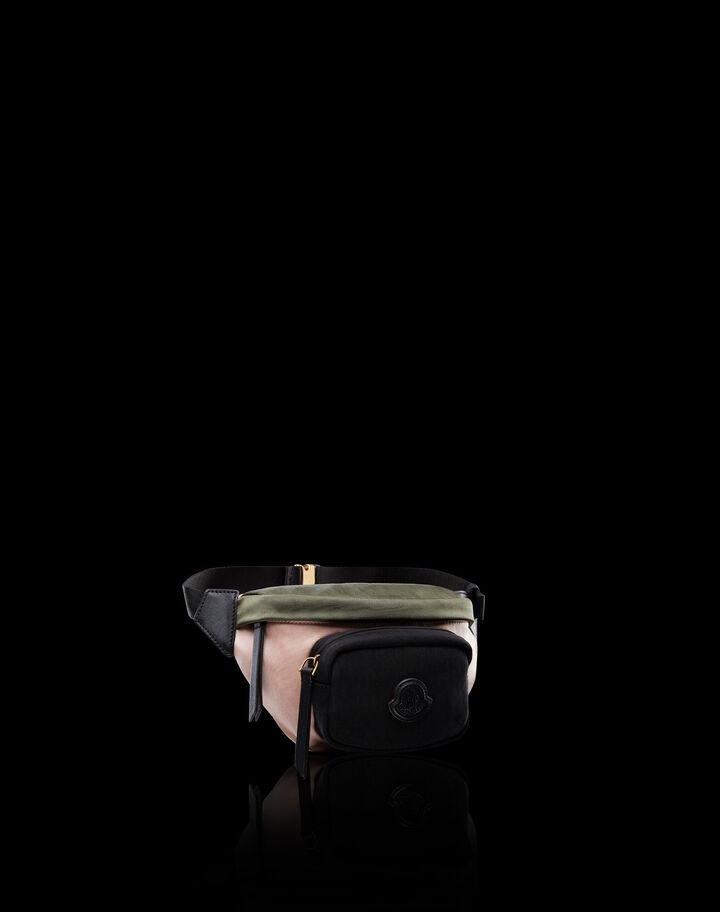 Moncler Felicie Pink/Military Green/Black