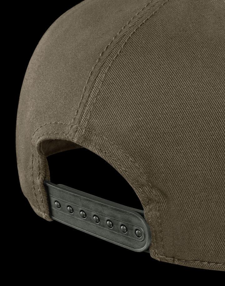 Moncler Gabardine baseball cap Dark Army Green