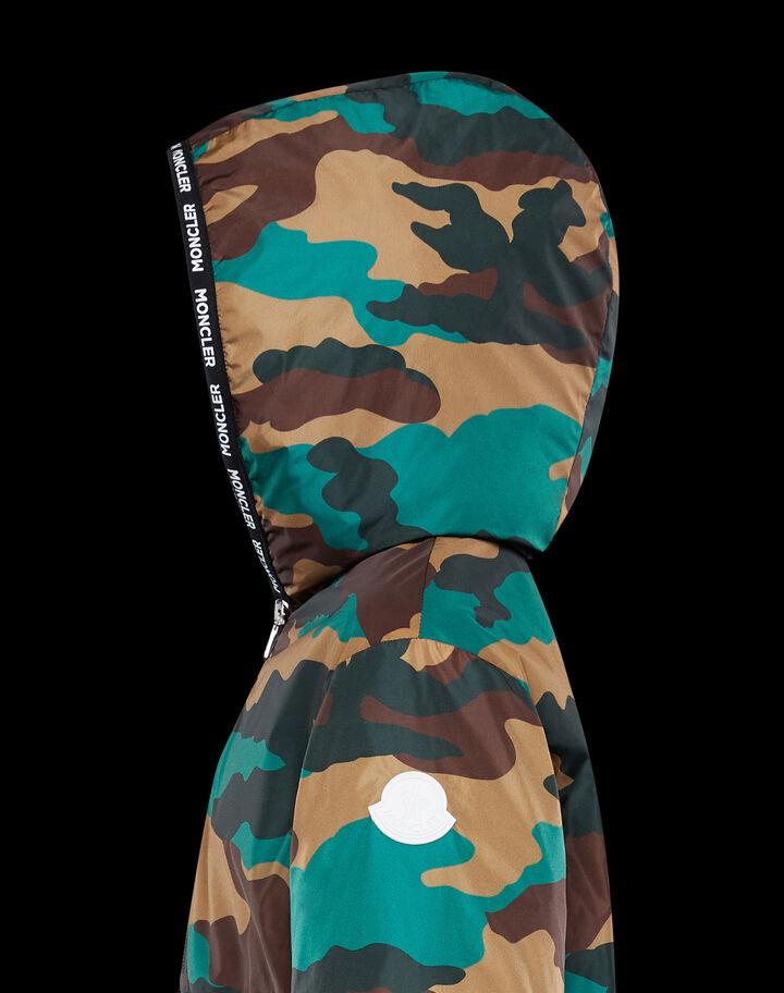 Moncler Nikandro Camouflage Print