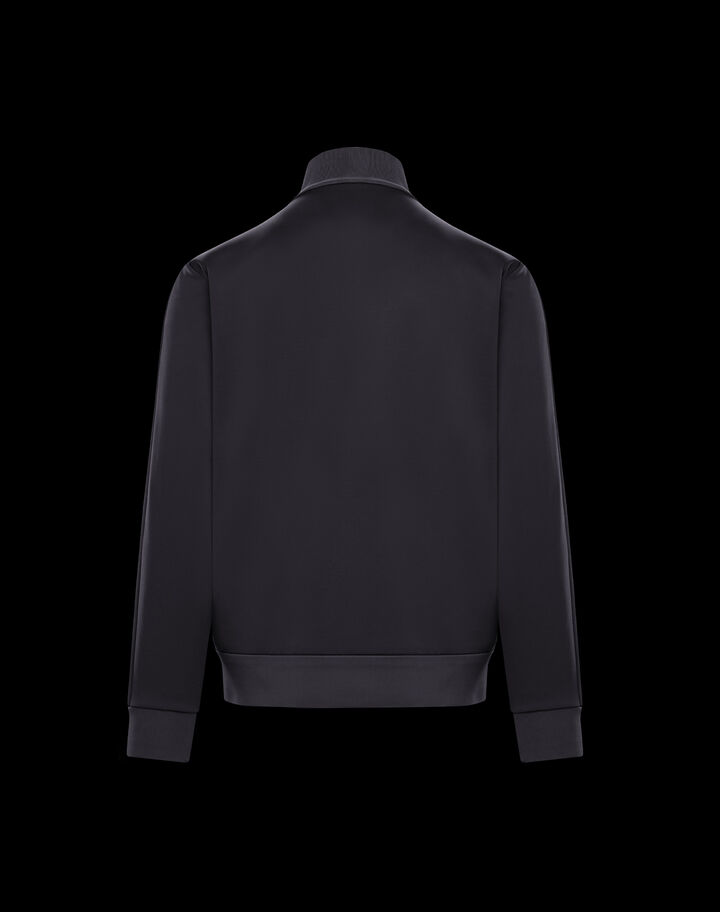 Moncler Triacetate hooded sweatshirt Black