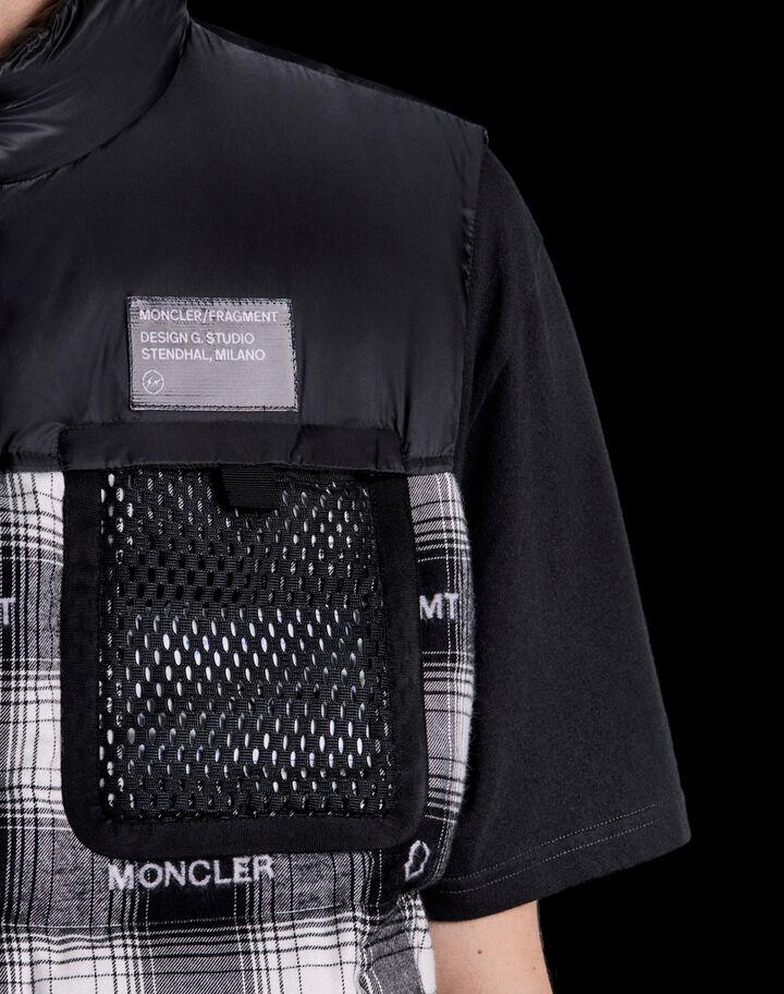 Moncler Daxy Black/White Checkered