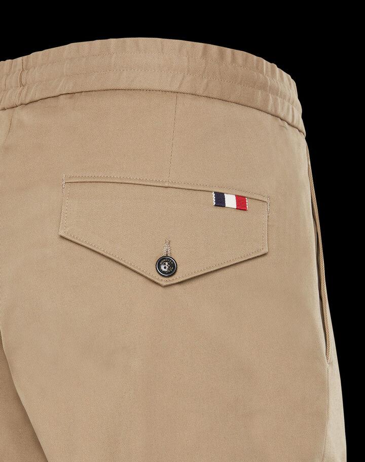 Moncler Gabardine pants Dark Army Green