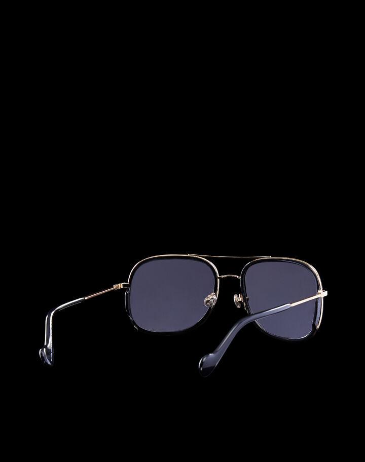 Moncler EYEWEAR Shiny Endura gold/Shiny black