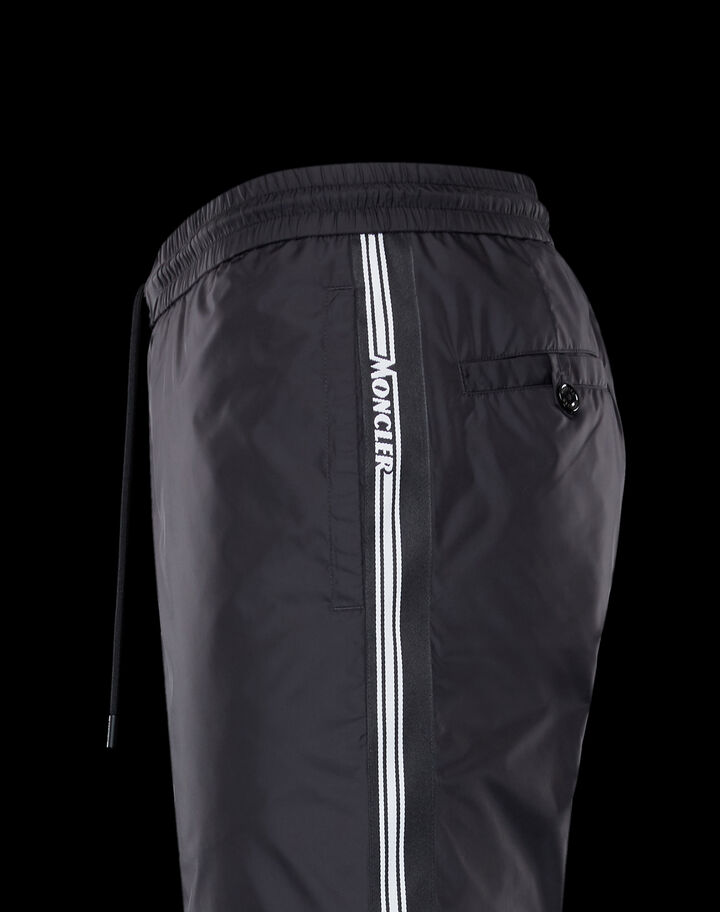 Moncler Nylon pants Black