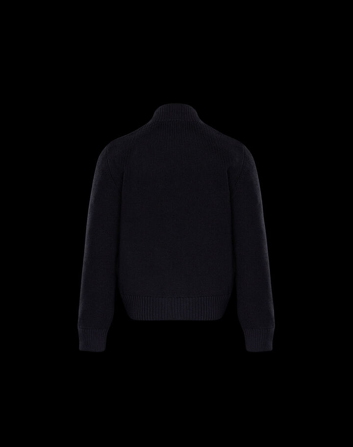 Moncler Padded sweater Forest Green