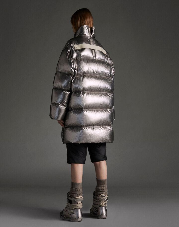 Moncler Cyclopic Metallic Silver