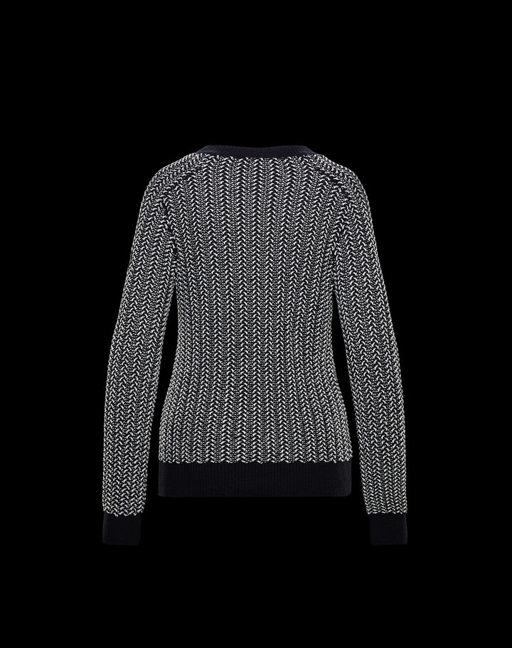 Moncler Mouliné sweater Black