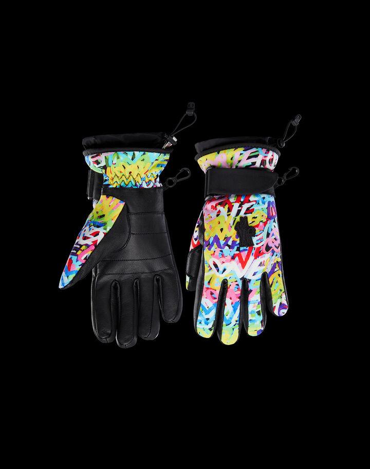 Moncler Ski gloves Cornflower Blue