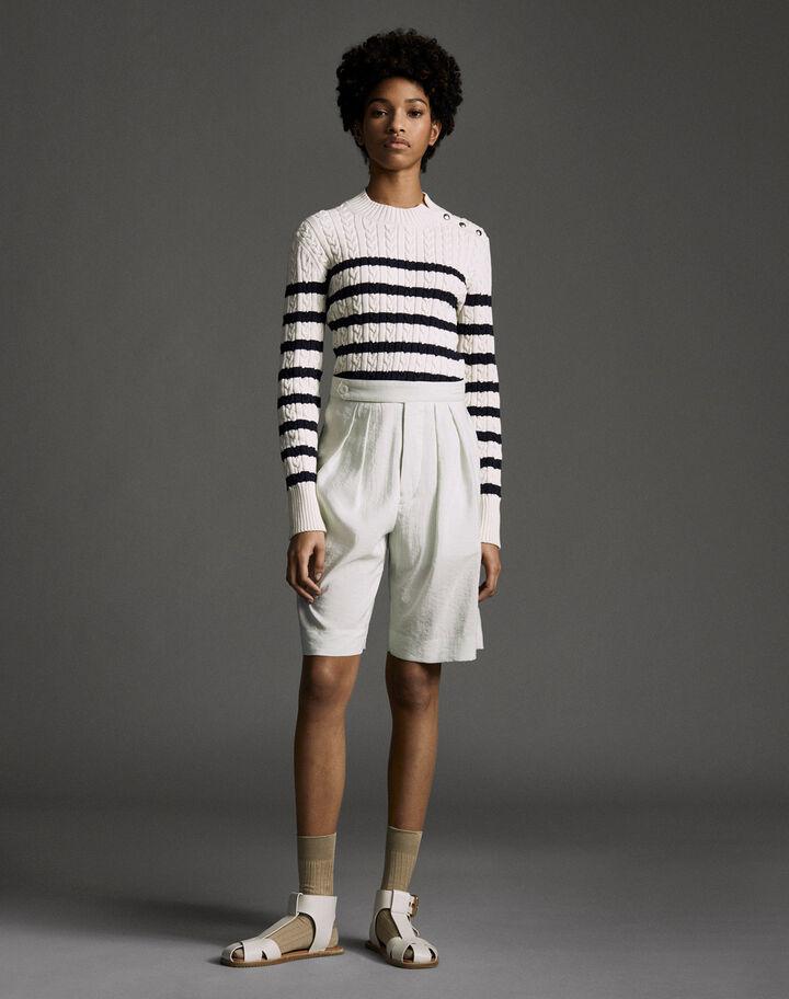 Moncler Washed silk pants Chalk Blue
