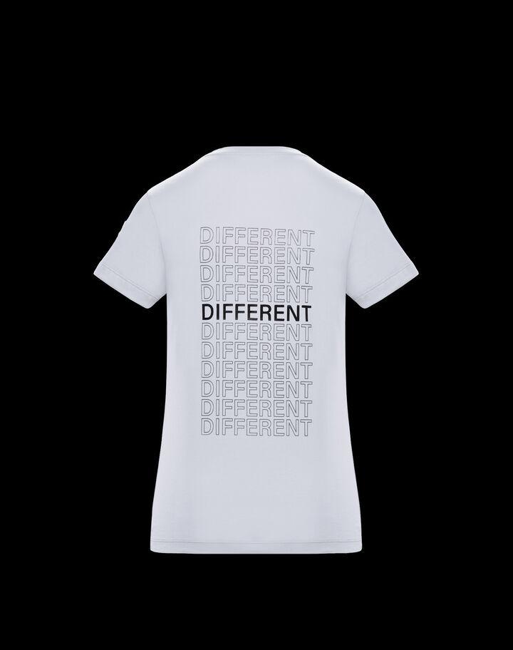 Moncler Slim fit t-shirt Optical White