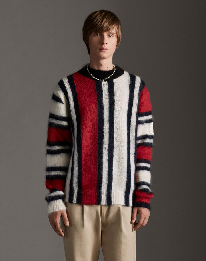 Moncler Patchwork sweater Multicolored