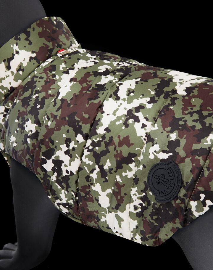 Moncler Mondog camouflage print Military Camouflage