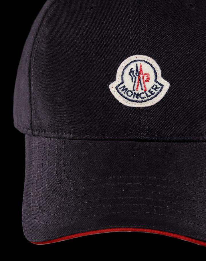 Moncler Baseball cap with strap Black