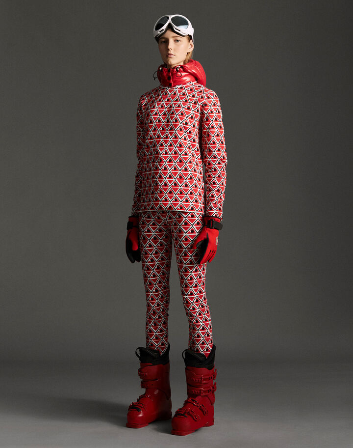Moncler Turtleneck sweater Fire Red