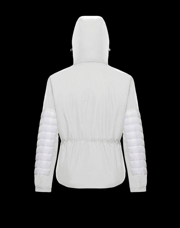 Moncler Olargues Silk White