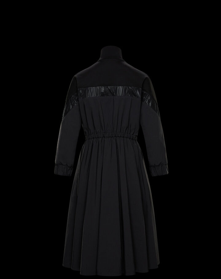Moncler Dress with inlay Black