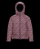 Moncler Zois Night Blue With Red And White Graphic