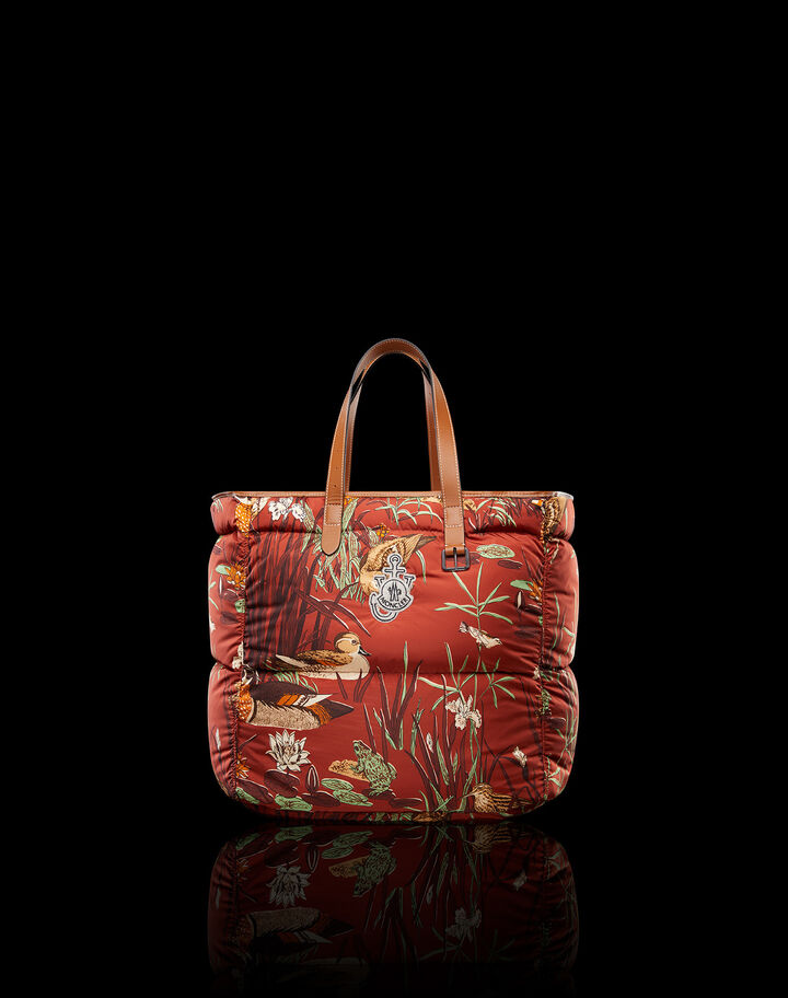 Moncler Quack tote Rust Red