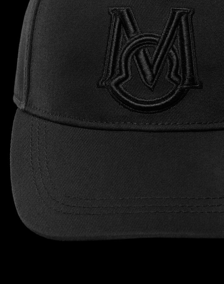 Moncler Gabardine hat Black