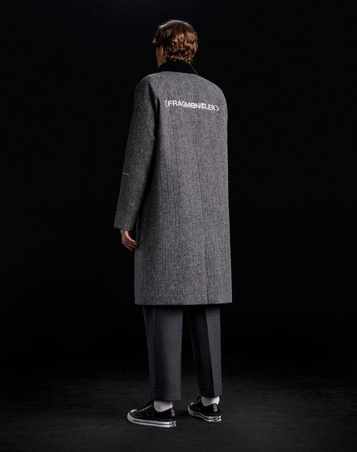 Moncler Valloryx Melange Medium Gray