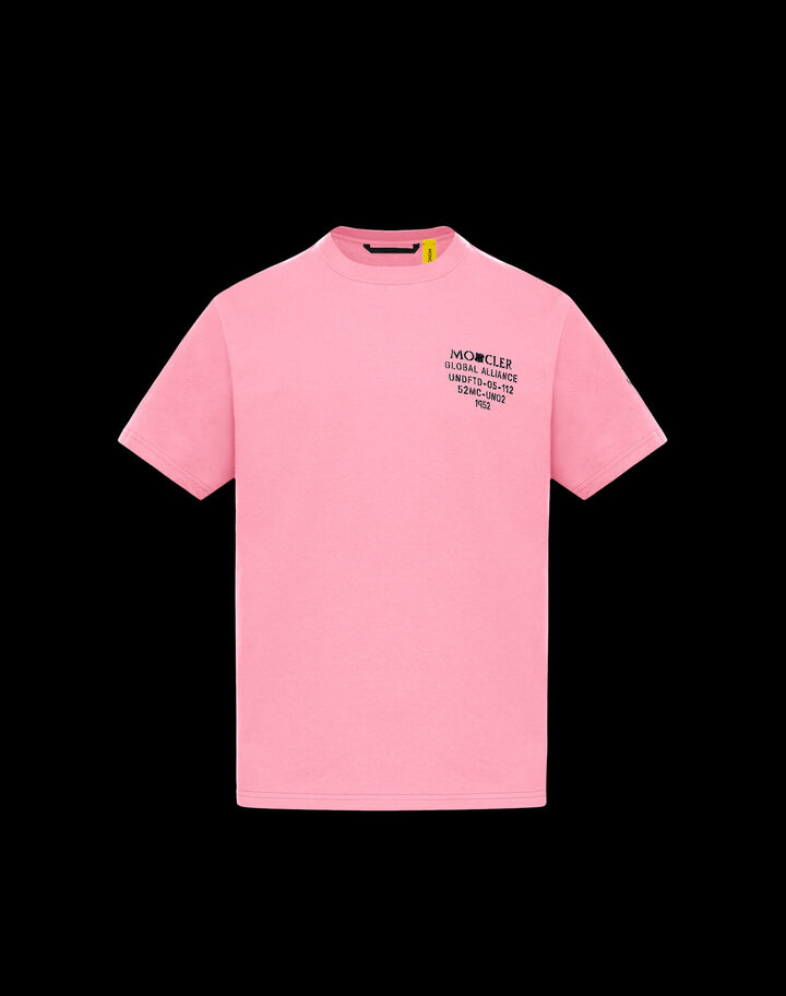 "Moncler ""UNDEFEATED"" t-shirt Bright Pink"
