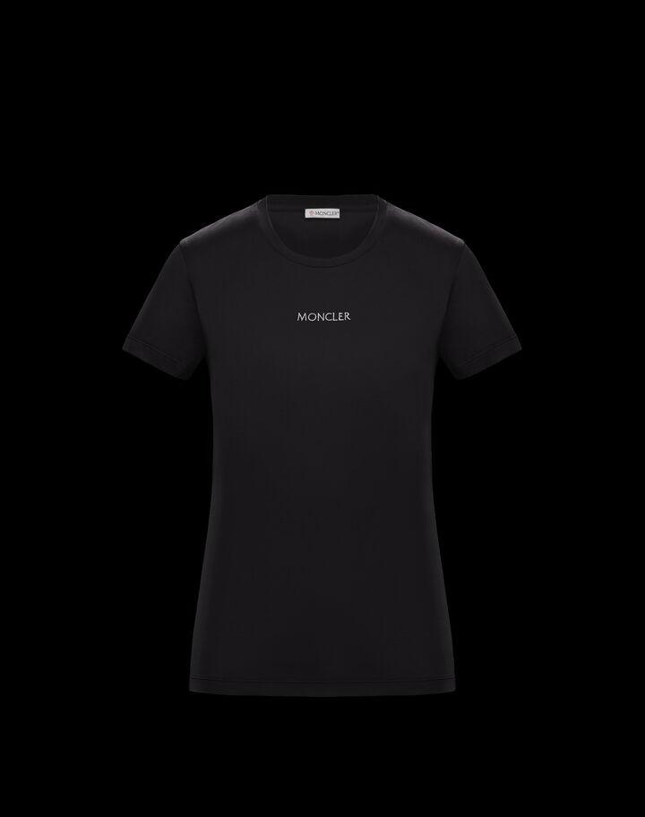 Moncler Slim fit t-shirt Black