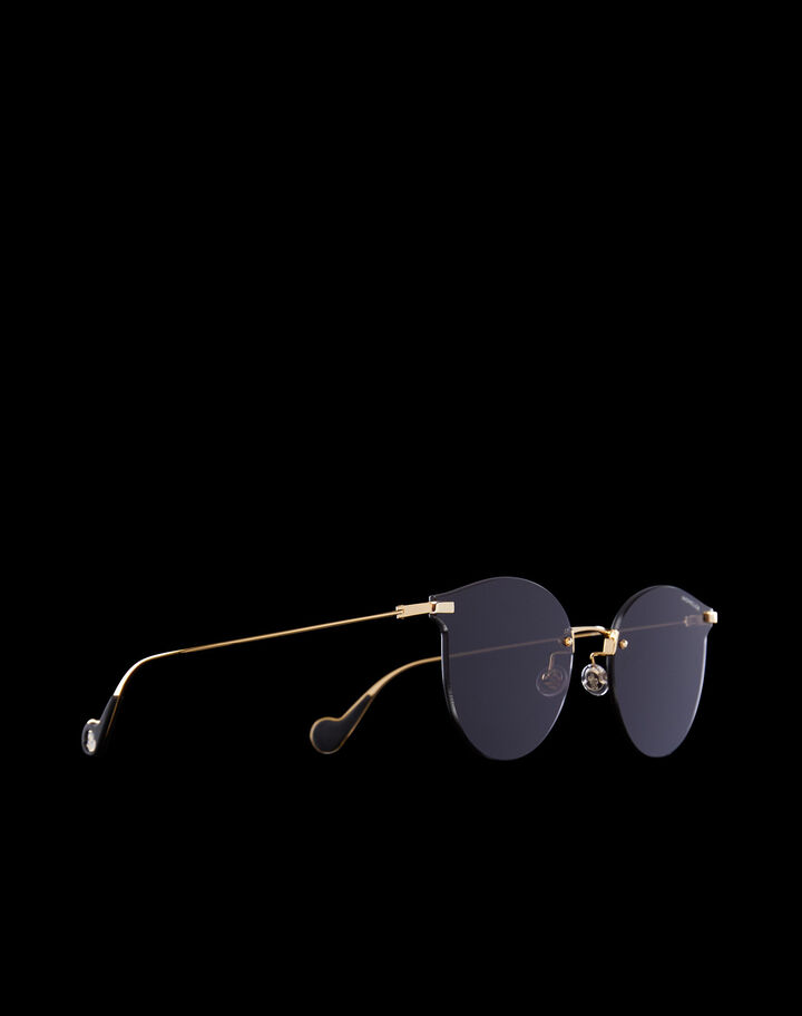Moncler Sunglasses Shiny Endura Gold