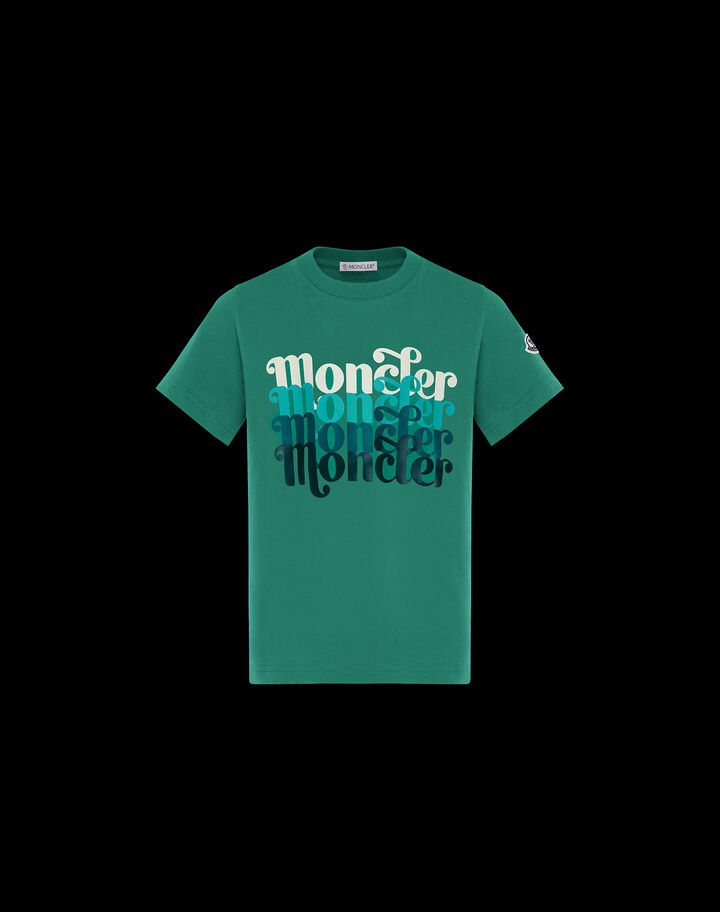 Moncler Jersey t-shirt Leaf Green