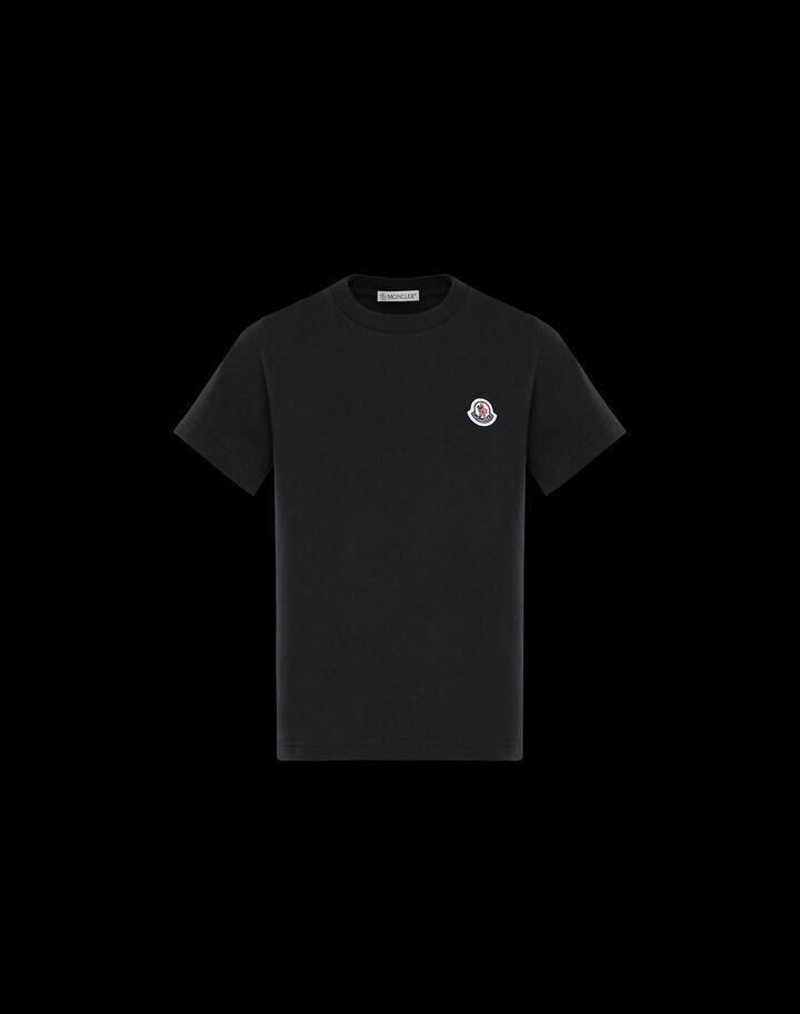 Moncler T-shirt with logo Black