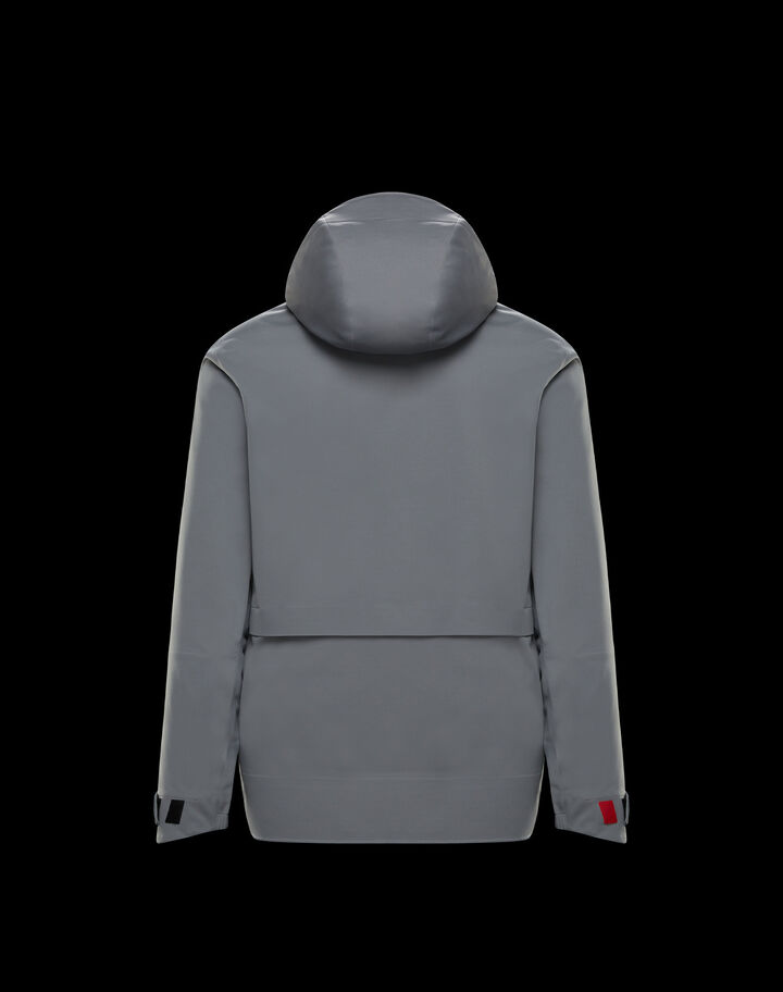 Moncler Hooded cardigan Grey