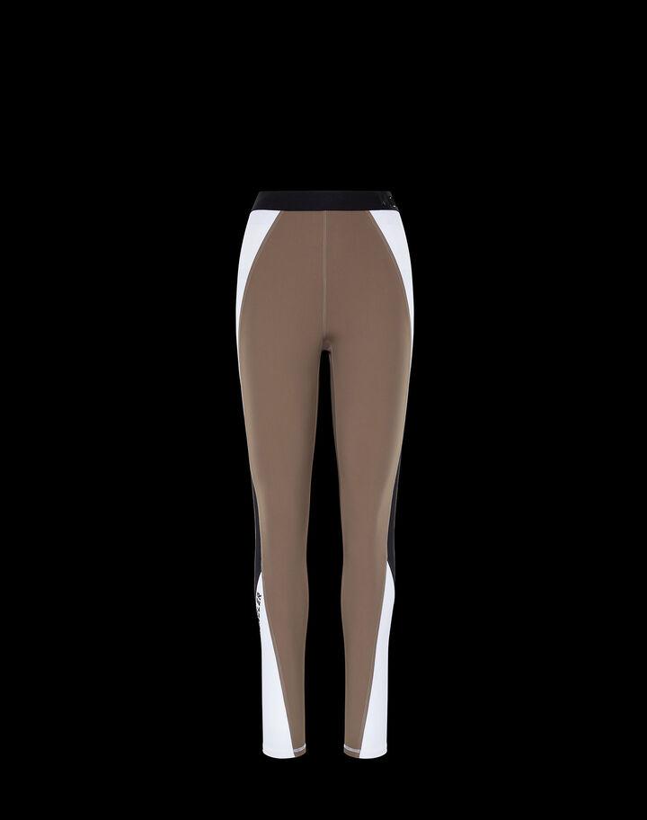 Moncler Leggings for women Dark Army Green