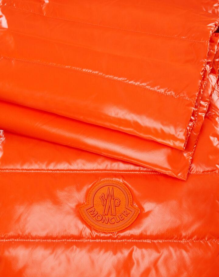 Moncler Down filled nylon scarf Bright Orange