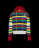 Moncler Striped sweater Dark Red