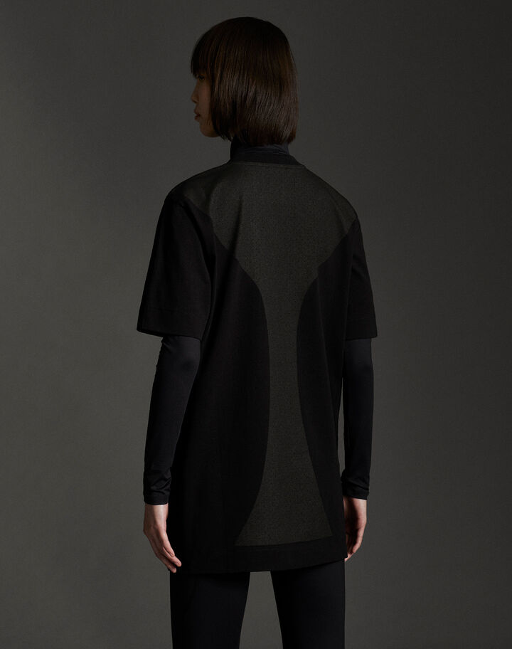 Moncler Recycled cotton t-shirt Black