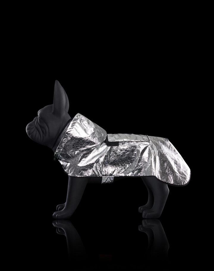 Moncler Mondog cape Metalic Silver