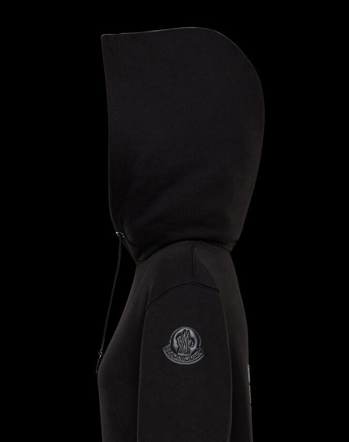 Moncler Sweatshirt with hood Black