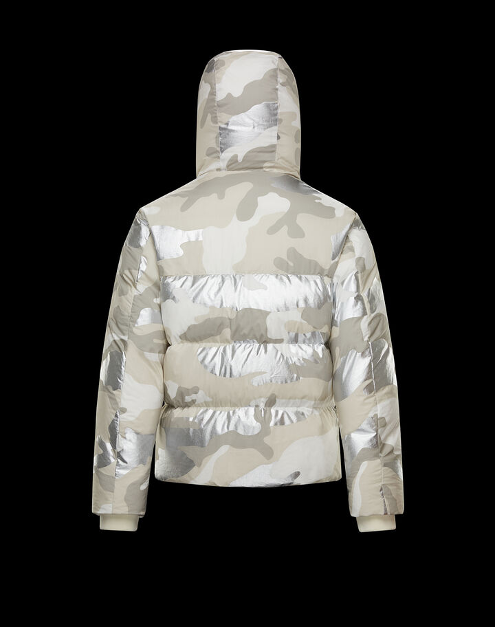 Moncler Granero Butter And Silver Camouflage